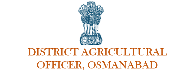 District Agricultural Officer, Osmanabad.